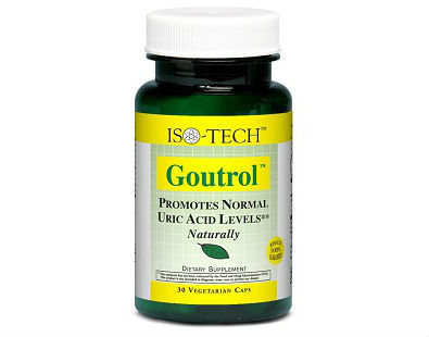 Goutrol Fast Acting Gout Relief supplement