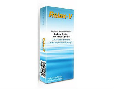Relax-V anti anxiety supplement