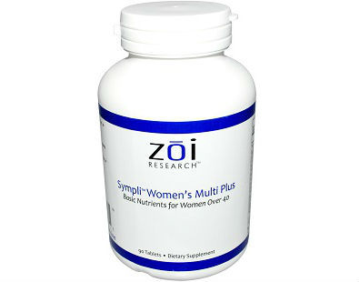 Zoi Research Sympli Women's Multi Plus menopause support supplement