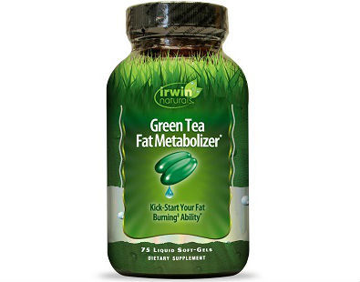 Irwin Green Tea Fat Metabolizer Supplement