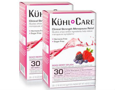 Menopause + Hot Flash Relief Drink Supplement Kuhl Care