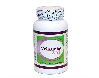 Uberceuticals Veinamin AM varicose veins supplement