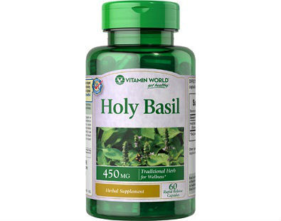 Holy Basil Vitamin World supplement