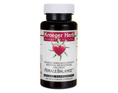 Kroeger Herb Female Balance menopause supplement