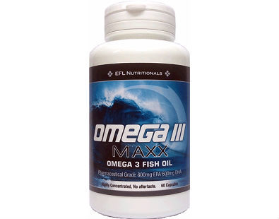 Omega III Maxx omega-3 fish oil supplement