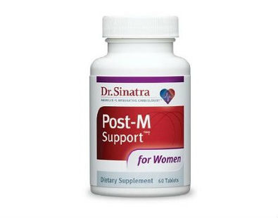 Post-M Support Dr. Sinatra menopause supplement