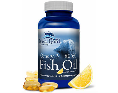 Boreal Fjord Omega 3 8060 Fish Oil omega-3 supplement