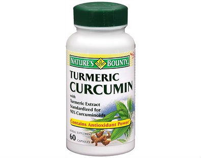 Natures Bounty Turmeric Curcumin supplement
