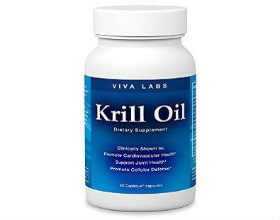 Omega-3 Krill Oil Viva Labs