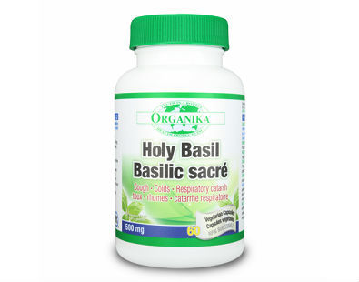 Organika Health Products Holy Basil supplement