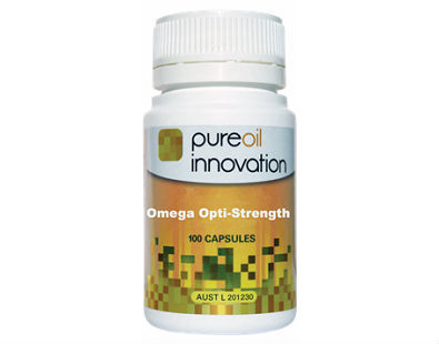 Pure Oil Innov Omega Opti-Strength fish oil supplement