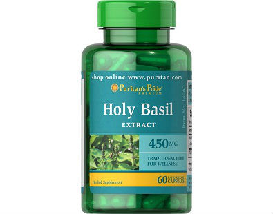 Puritan's Pride Holy Basil supplement