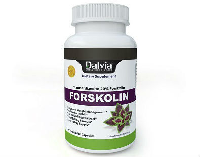 Dalvia Forskolin Standardized Supplement