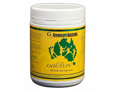 Goutlin gout supplement