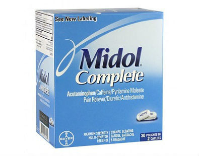 Midol complete menopause supplement