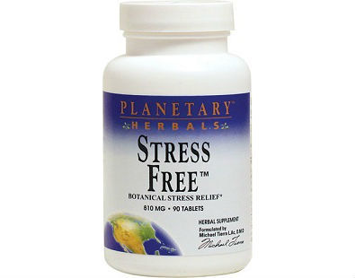 Planetary Herbals Stress Free Anxiety supplement