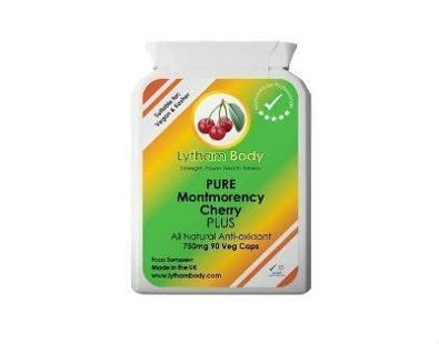 Pure Montmorency Cherry Plus Gout Relief Supplements for gout