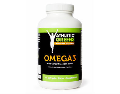 Athletic Greens Omega-3 TG supplement