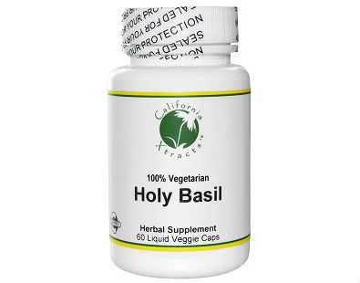 California Xtracts Holy Basil supplement
