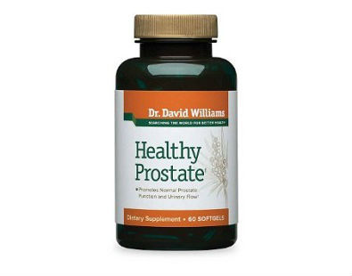 Dr. David Williams Healthy Prostate supplement