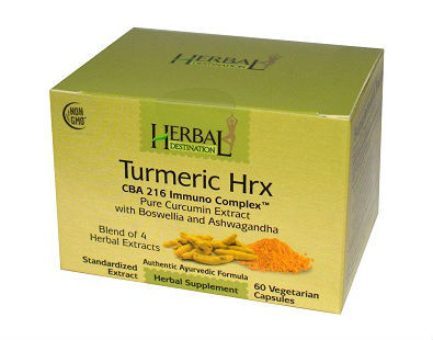 Herbal Destination Turmeric Hrx turmeric supplement