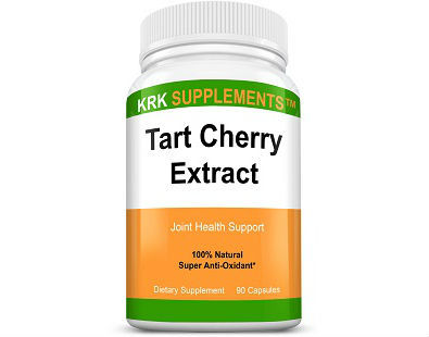 KRK Supplements Tart Cherry Extract supplement for gout