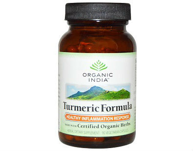 Turmeric Formula Organic India turmeric supplement
