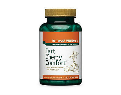 Dr. David Williams Tart Cherry Comfort for gout