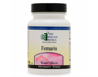 Ortho Molecular Products Femarin menopause supplement