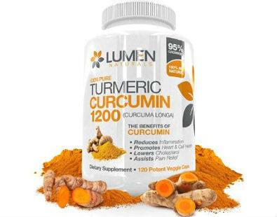 Lumen Naturals Turmeric Curcumin 1200 turmeric supplement