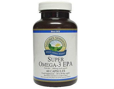 Nature's Sunshine Super Omega-3 EPA supplement