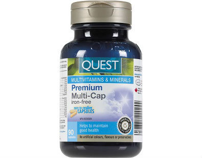 Quest Premium Multi-Cap with Ester-C supplement for gout