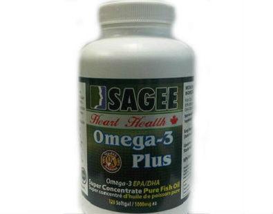 Sagee Sardine Fish Oil Omega-3 supplement