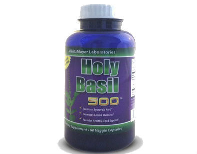MaritzMayer Laboratories Holy Basil 500 supplement