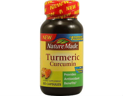 Nature Made Turmeric supplement