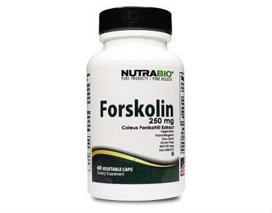 NutraBio Forskolin supplement for weight loss
