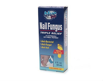 Blue Goo Nail Fungus Triple Relief solution
