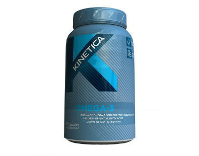 Omega-3 Kinetica Sports UK fish oil supplement