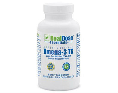 Real Dose Nutrition Super Critical Omega-3 TG fish oil supplement