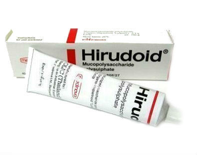 Hirudoid cream for varicose veins
