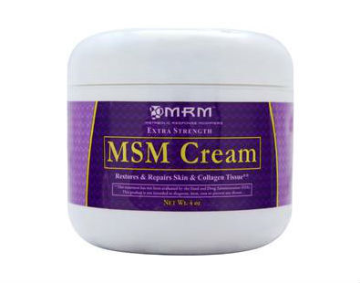 MRM MSM Cream extra strength