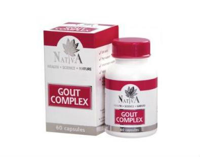Nativa Gout Complex gout supplement
