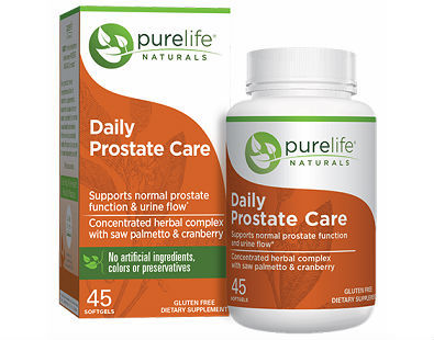 Purelife Naturals Daily Prostate Care