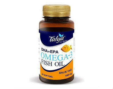 Talya Omega-3 fish oil fatty acids supplement