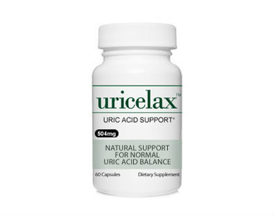 Uricelax Uric Acid gout supplement