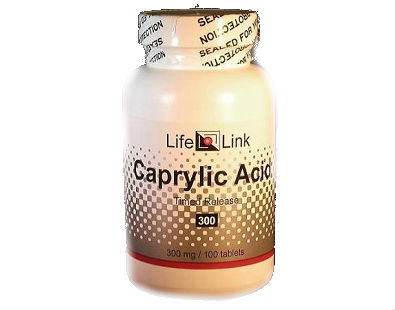 Life Link Caprylic acid supplement for candida and yeast infection