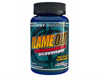Flameout Inflammation Scavenger fish oil supplement