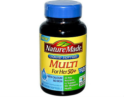 Nature Made Multi for Her 50+ menopause supplement