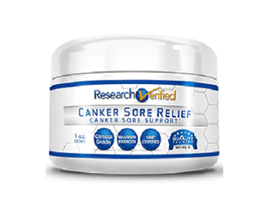 Research Verified Canker Sore Relief
