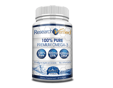 ResearchVerified Omega-3 supplement
